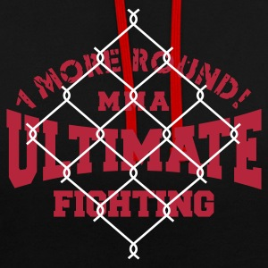 MMA FIGHTING Hoodies & Sweatshirts - Contrast Colour Hoodie