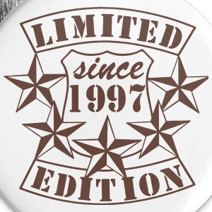 1997 , Limited Edition Buttons & Anstecker - Buttons groß 56 mm