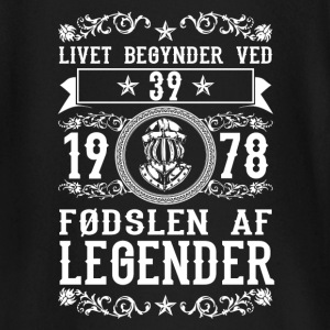 1978 - 39 ar - Legender - 2017 - DK Baby Long Sleeve Shirts - Baby Long Sleeve T-Shirt