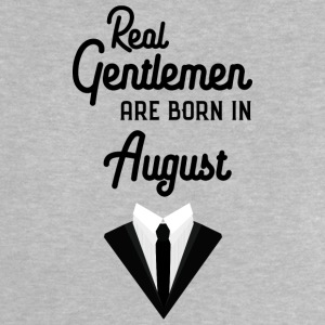 Real Gentlemen are born in August Se652 Baby Shirts  - Baby T-Shirt
