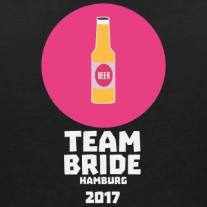Team bride Hamburg 2017 Henparty S1v8e T-Shirts - Women's V-Neck T-Shirt