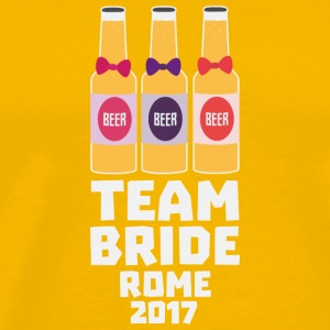 Team Bride Rome 2017 Slp22 T-Shirts - Men's Premium T-Shirt