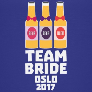 Team bruden Oslo 2017 Sk20f T-shirts - Teenager premium T-shirt