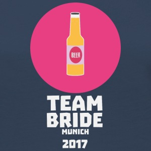 Team bride Munich 2017 Henparty Shck5 Long Sleeve Shirts - Women's Premium Longsleeve Shirt