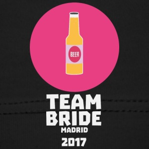 Team bride Madrid 2017 Henparty Ssw6x Baby Cap - Baby Cap