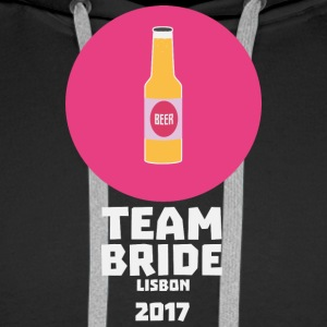 Team bride Lisbon 2017 Henparty Sj5mu Hoodies & Sweatshirts - Men's Premium Hoodie