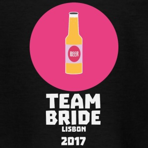 Team bride Lisbon 2017 Henparty Sj5mu Shirts - Teenage T-shirt