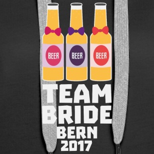 Team Bride Bern 2017 S6xh1 Hoodies & Sweatshirts - Women's Premium Hoodie