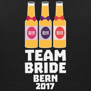 Team Bride Bern 2017 S6xh1 T-Shirts - Women's V-Neck T-Shirt