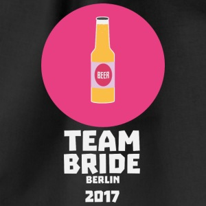 Team bride Berlin 2017 Henparty S60nh Bags & Backpacks - Drawstring Bag
