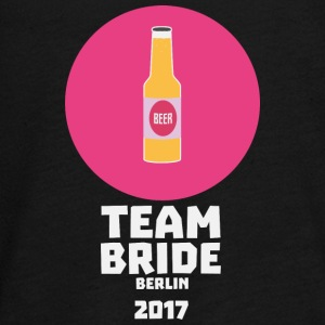 Team bruden Berlin 2017 Henparty S60nh Langærmede shirts - Teenager premium T-shirt med lange ærmer