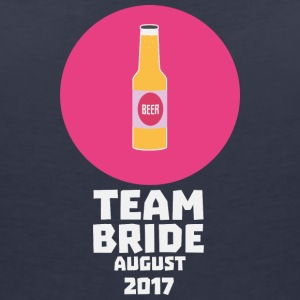 Team bride August 2017 Henparty Scck2 T-Shirts - Women's V-Neck T-Shirt