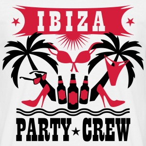 14 Ibiza Party Crew Bier Beer Sex Drinking Team T- - Männer T-Shirt