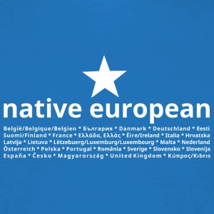 native european - Männer T-Shirt