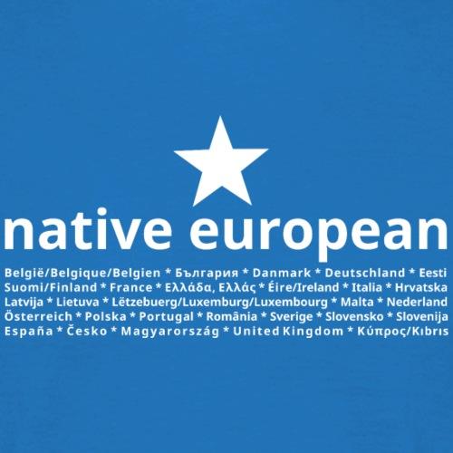 native european star