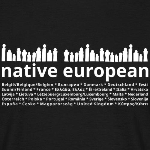 native european people