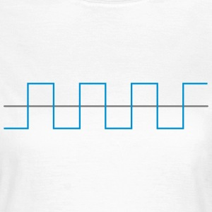 Wellenform Rechteck Waveform Square OSC Schwingung T-Shirts - Frauen T-Shirt