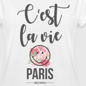 SmileyWorld Paris C'Est La Vie - Frauen Oversize T-Shirt
