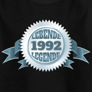 Lebende Legende seit 1992 T-Shirts - Teenager T-Shirt