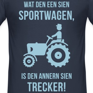Dat is mien Trecker! (Plattdeutsch / Plattdüütsc - Männer Slim Fit T-Shirt
