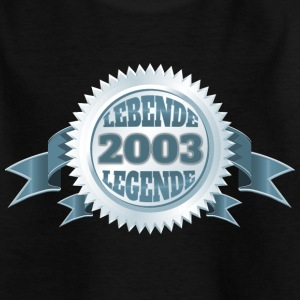 Lebende Legende seit 2003 T-Shirts - Teenager T-Shirt