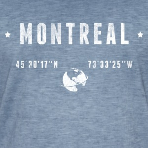 Montreal Tee shirts - T-shirt vintage Homme