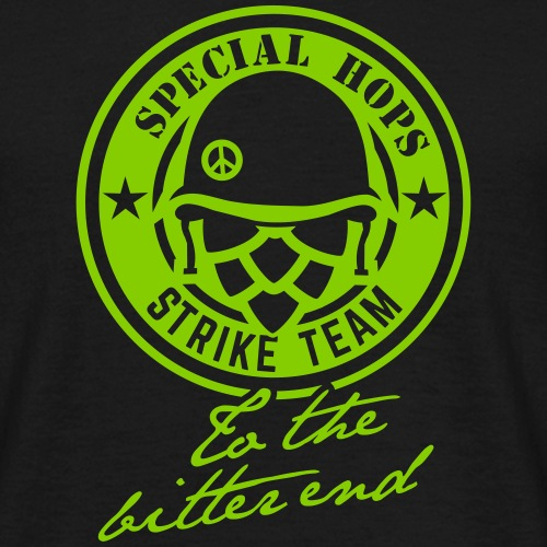 Bier-Shirt-Design Special Hops Strike Team