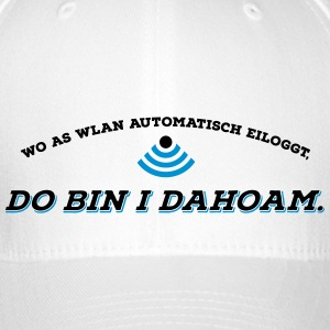 Dahoam is do wo as Wlan is 2C Caps & Mützen - Flexfit Baseballkappe
