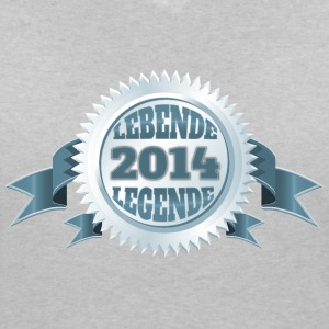 Lebende Legende seit 2014 T-Shirts - Women's V-Neck T-Shirt