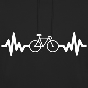Bike is life cycling t-shirt  - Unisex Hoodie