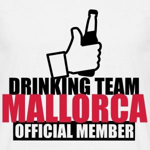 Drinking team mallorca malle 2017  - Men's T-Shirt