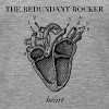 redundant rocker - heart  - Women's Premium Tank Top