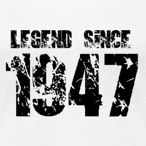 Legend since 1947 T-Shirts - Frauen Premium T-Shirt