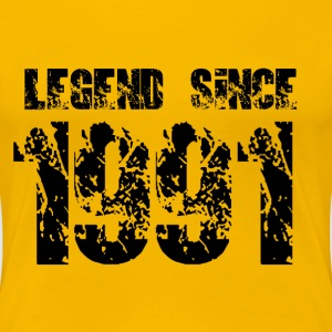 Legend since 1991 T-Shirts - Frauen Premium T-Shirt