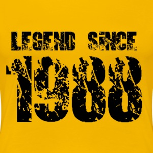 Legend since 1988 T-Shirts - Frauen Premium T-Shirt