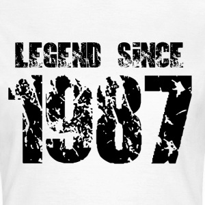 Legend since 1987 T-Shirts - Frauen T-Shirt
