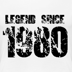 Legend since 1980 T-Shirts - Frauen Premium T-Shirt