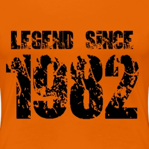 Legend since 1982 T-Shirts - Frauen Premium T-Shirt