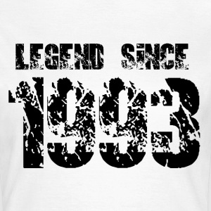 Legend since 1993 T-Shirts - Frauen T-Shirt