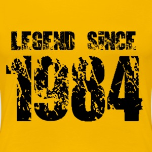 Legend since 1984 T-Shirts - Frauen Premium T-Shirt