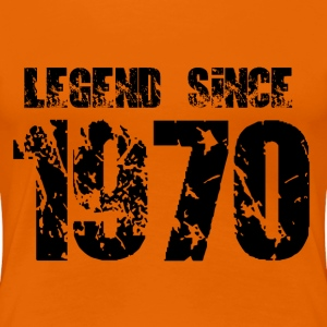 Legend since 1970 T-Shirts - Frauen Premium T-Shirt
