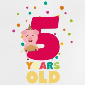 Five Years old fifth Birthday Party Se6bl Baby Shirts  - Baby T-Shirt