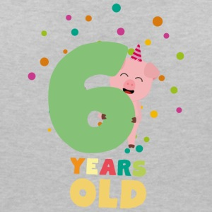 Six Years old sixth Birthday Party S7oge T-Shirts - Women's V-Neck T-Shirt