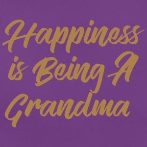 Happiness is being a Grandma T-skjorter - T-skjorte for kvinner