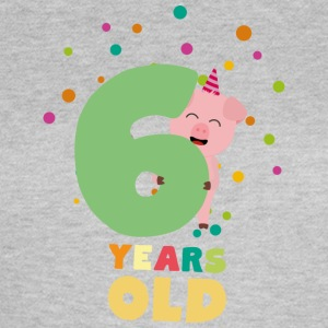 Six Years old sixth Birthday Party S7oge T-Shirts - Women's T-Shirt