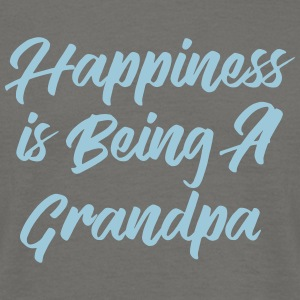Happiness is being a Grandpa T-shirts - Mannen T-shirt
