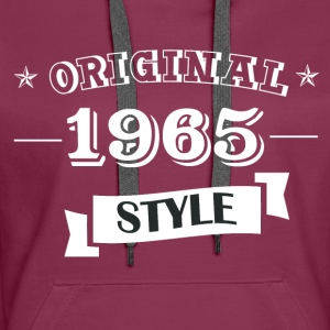 Original 1965 style sweater & hoodies - Women's Premium Hoodie