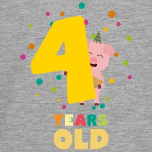 Four Years old fourth Birthday Party Spkhc Long Sleeve Shirts - Teenagers' Premium Longsleeve Shirt