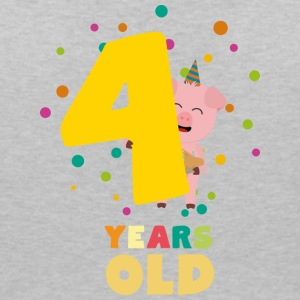 Four Years old fourth Birthday Party Spkhc T-Shirts - Women's V-Neck T-Shirt