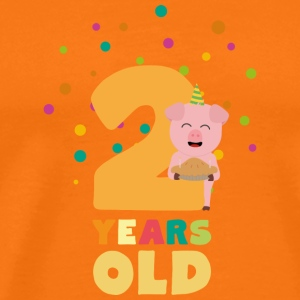 Two Years Second Birthday Party Skgcl T-Shirts - Men's Premium T-Shirt